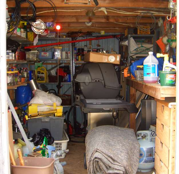 "The ""Tool Shed"""